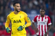 Tottenham re-sign Dutch goalkeeper Vorm after releasing 35-year-old in June