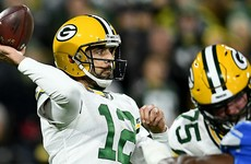 Rodgers leads Packers to victory over Lions