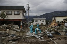 Japan continues non-stop search for typhoon survivors as death toll hits 74