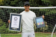 Liverpool full-back Alexander-Arnold enters Guinness World Records