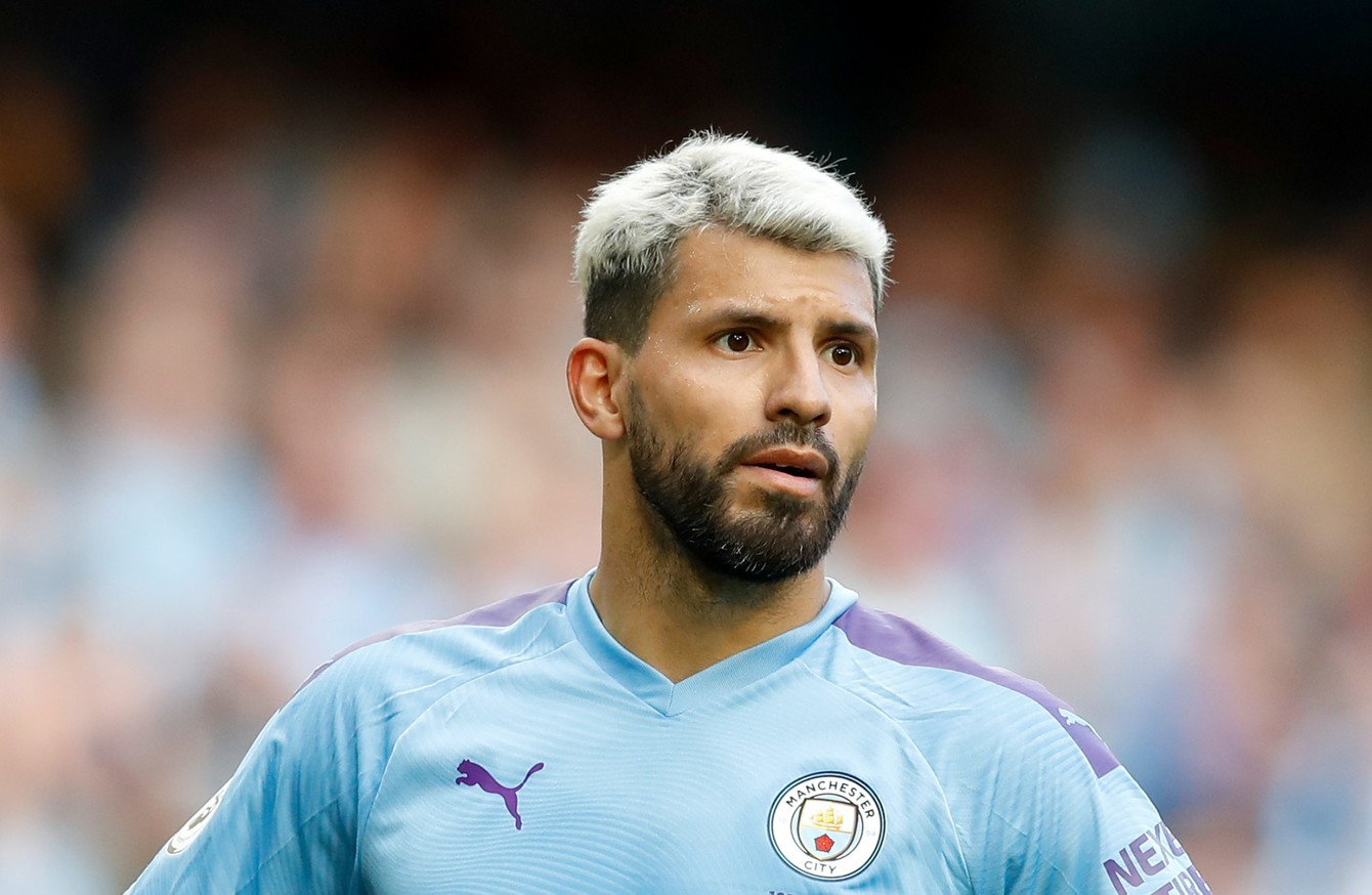 car away walks en Sergio accident Aguero unscathed  after
