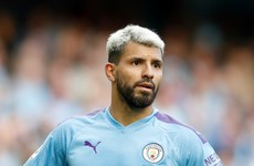 Sergio Aguero walks away unscathed after car accident en route to Man City training