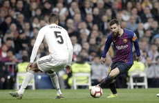 Spanish league wants El Clasico switched to Madrid over Catalan protests