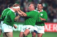Three cheers, two fingers for Ireland's only other RWC meeting with the All Blacks