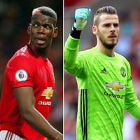 De Gea and Pogba both ruled out of Man United's clash with Liverpool on Sunday