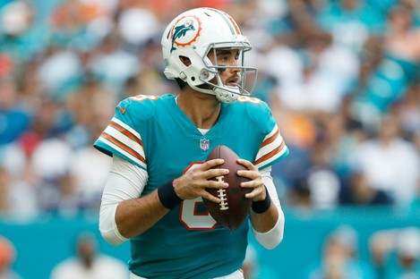 Brock Osweiler during his stint at the Dolphins.