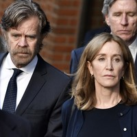 Actress Felicity Huffman starts prison sentence in college admissions scam