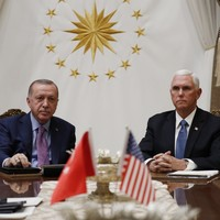 Turkey has agreed to a ceasefire in Syria, Pence says