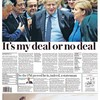 'On the Brexit brink': UK front pages react to Boris Johnson's deal