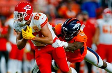 Chiefs beat Broncos but lose Mahomes to injury