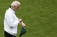 Trapattoni delays naming team to face Spain