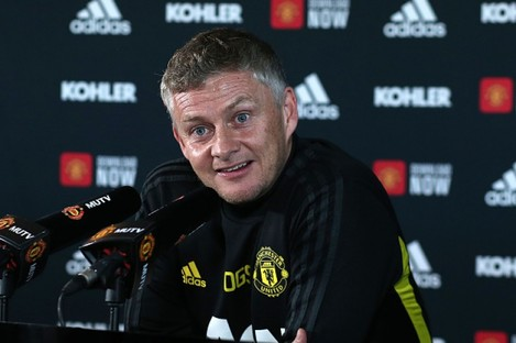 The Man United manager speaking at today's pre-match press conference.