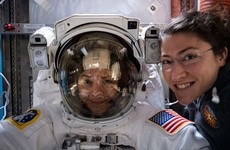 Nasa astronauts make history as they begin first ever all-female spacewalk
