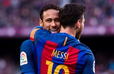 'There are people who don't want Neymar to return' - Messi