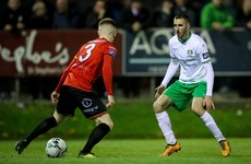 Hyland's superb strike from 25 yards sees play-off end all square between Cabo and Drogheda