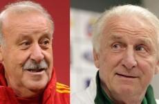 Del Bosque, Trapattoni coaches of the old school