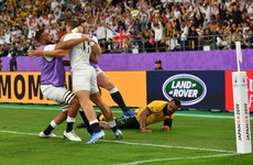 May's double sends England past Australia and into World Cup semi-final