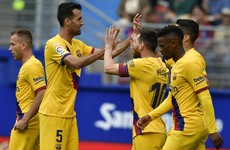 Messi on target to ensure frantic week ends in comfortable Barca win