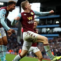 Irish teen Aaron Connolly retains starting spot as 10-man Brighton undone by Villa
