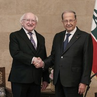 President Higgins and Minister Paul Kehoe evacuated from Beirut hotel due to 'security concerns'