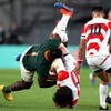 'Beast' Mtawarira escapes with a yellow after dangerous tip tackle against Japan
