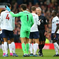 'The ref gave a lot of similar free-kicks to them' - Henderson bemoans controversial United goal