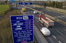 More than 20 motorists hit with fines totalling €205,000 for unpaid M50 toll charges