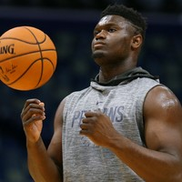 Young Pelicans star Zion Williamson out for up to eight weeks following knee surgery