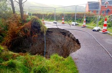 People urged to stay away from sinkhole which has developed near Cork village