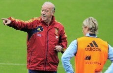 Pokerface: Del Bosque giving no clues about team selection
