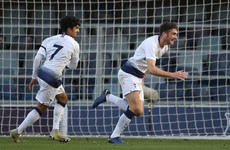 Irish striker Parrott bags four goals for Spurs in the Uefa Youth League