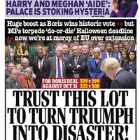 'Brexit is in purgatory': UK front pages react to last night's House of Commons votes