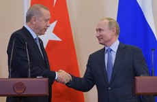 Russia and Turkey agree 'historic' deal to undertake joint patrols in Syria