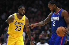 Kawhi's Clippers win battle of LA against LeBron and Lakers, Raptors open defence on a high