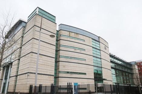 File photo. Belfast Crown Court.