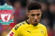 Liverpool showing 'a lot of interest' in Dortmund teenager Sancho