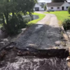 Family still in limbo after flood destroyed bridge linking their home to main road