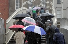 Weatherwatch: Get the anoraks out – there's a lot of rain coming our way