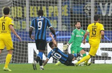 Inter get campaign on track with Dortmund win as Napoli win thriller in Salzburg
