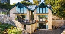 Breakfast on the balcony: Light-filled Dalkey home with panoramic views of Dublin Bay