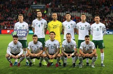Ireland fall eight places in Fifa World Rankings