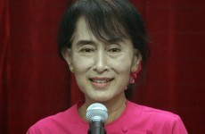Aung San Suu Kyi arrives in Europe