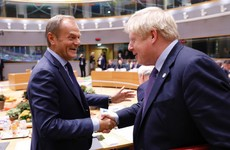 Boris Johnson sends letter to Donald Tusk accepting Brexit extension to 31 January 2020