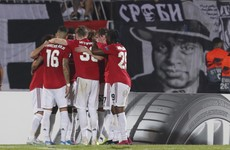 Inexperienced teenage duo feature as Man United edge Partizan