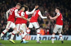 Nicolas Pepe scores two brilliant free-kicks as Arsenal prevail in five-goal thriller Vitoria