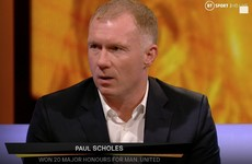 'They play like a team of strangers': Scholes slams Man United despite Partizan win