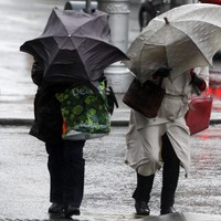 Status Yellow rainfall warning issued for six counties