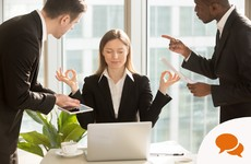If stress at work is interfering with your performance or personal life, take action