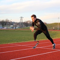 'I do what I have to do' - The ex-footballer who recovered from a leg amputation to run for Ireland