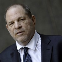 Women confront Harvey Weinstein as he attends New York actors showcase
